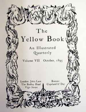 J.D. Mackenzie Design for the Yellow Book 1895