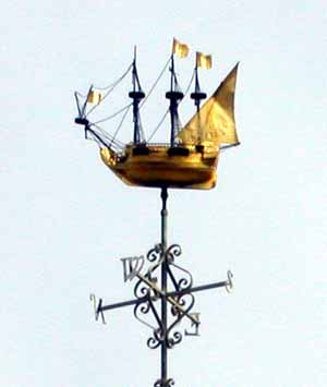 Copper Galleon mounted on Seaman