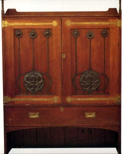 Linen Cupboard c 1895 Mackintosh for John Henderson. GSA