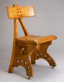 Pugin The Granville Chair. Design 1870